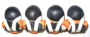 Leather Muffs with velcro