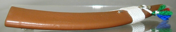 Long Leather Scabbard w/ String