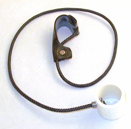 Nylon Cord Slip HItch With PVC Swivel Attached
