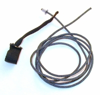 Nylon hitch on nylon cord - plain end