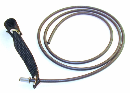 Nylon hitch on rubber cord - plain ends (DOZEN)