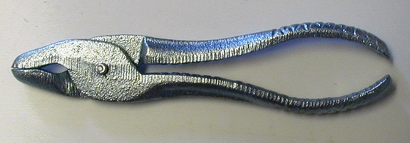 Pheasant Bit Pliers (also works as a cage ring plier)