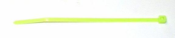Plastic cable tie leg band    100 LIGHT GREEN