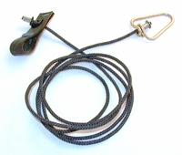 Pro hitch on nylon cord with metal swivel