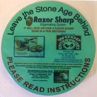 """Sharpening wheel  8"""" x 3/4""""  gritted paper"""