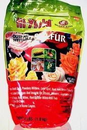 Sulfur powder (dusting or wettable)    4 pound (+ freight, do not select standard shipping)