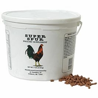 "Super Spur Pellets <p style=""font-family:arial;color:purple;font-size:10px;"">(click here to see pricing)"
