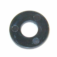 "Washer, flat, nylon, black 5/16"" FOR TIE CORDS  (EACH)"