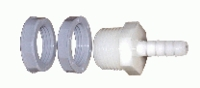 "Water tank hose barb fitting, for 5/16"" hose"