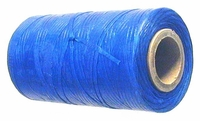 Waxed tie string  250 yard BLUE