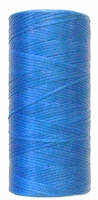 Waxed tie string  250 yard BLUE narrow