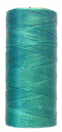 Waxed tie string 250 yard GREEN narrow