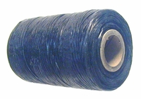 Waxed tie string  500 yard  BLACK