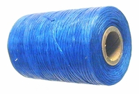 Waxed tie string  500 yard BLUE