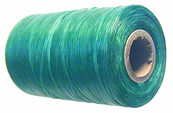Waxed tie string  500 yard GREEN