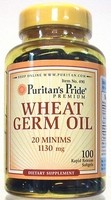 Wheat Germ Oil   100 capsules