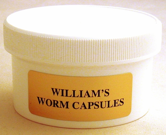 Williams Wormer  100 capsules