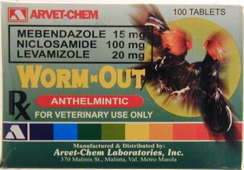 Worm-Out  100 tablets