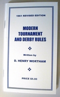 Wortham Derby Rules 1961