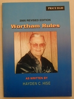 Wortham Derby Rules 2005 Edition