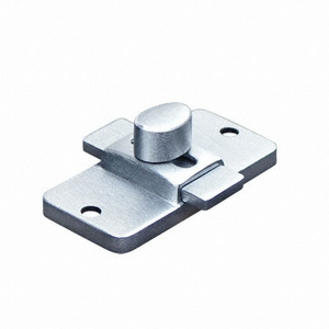 "358 LATCH-SLIDE-SURFACE 2-3/4"" SATIN ZAMAC"