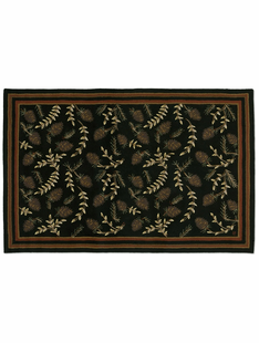 6� X 9� WILLOW CONE RUG