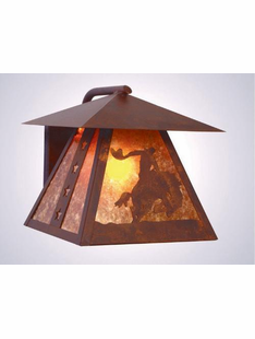 "8 SECONDS SCONCE - 9.5""H X 9.5""W X 11.5""D"