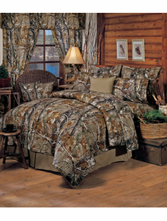 ALL PURPOSE CAMO BED SET KING