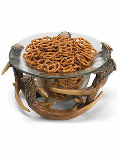Antler Decorative Bowl