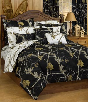 AP Black Camo Bedding