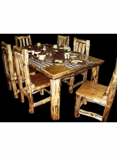 ASPEN 7' DINING TABLE
