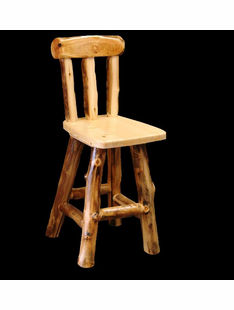 ASPEN BARSTOOL WITH BACK AND SWIVEL