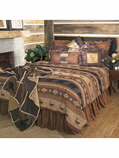 Autumn Trails Twin Bedding Set
