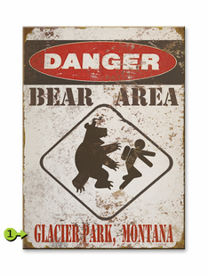 BEAR AREA PERSONALIZED SIGN