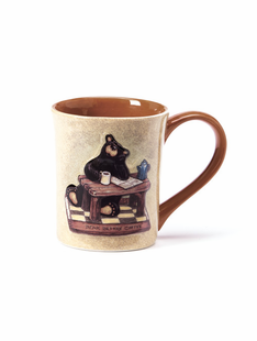 Bear Before Coffee Mug