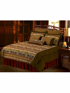 BEAR CANYON SUPER QUEEN BEDDING SET