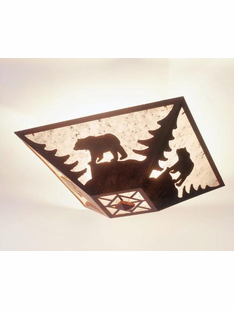 "BEAR CEILING DROP MOUNT- 7.5""H X 17"" X 17.5""W"