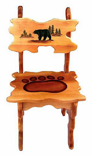 BEAR CHAIR (ONE)