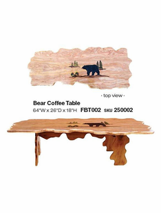 BEAR COFFE TABLE