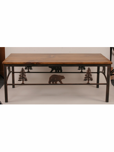 BEAR COFFEE TABLE