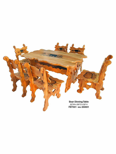 BEAR DINNING TABLE (TABLE IN CENTER ONLY)
