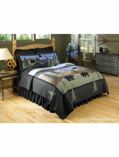BEAR LAKE BED SETS FULL QUEEN