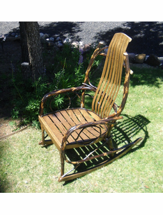 BENT HICKORY ROCKER