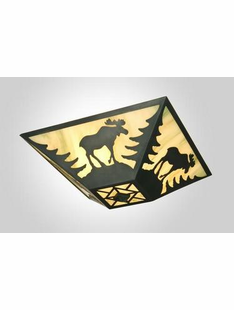 "BLACK MOOSE CEILING DROP MOUNT- 7.5""H X 17"" X 17.5""W"