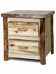 BLUE RIDGE 2 DRAWER ASPEN  NIGHTSTAND