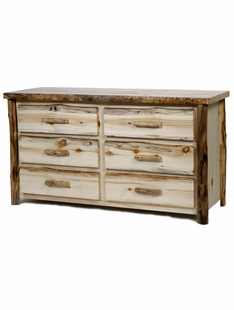BLUE RIDGE 6 DRAWER ASPEN DRESSER