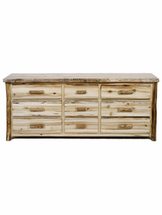 BLUE RIDGE ASPEN 9 DRAWER DRESSER