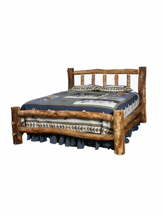 BLUE RIDGE ASPEN BED WITH SHORT FOOTBOARD