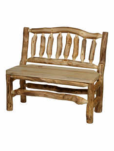 BLUE RIDGE ASPEN BENCH W/BACK 4'