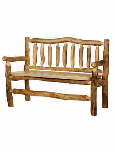BLUE RIDGE ASPEN BENCH WITH BACK & ARMS 4'